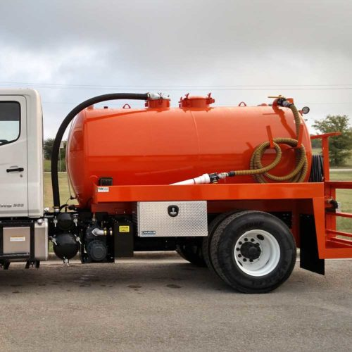 Portable Toilet Trucks